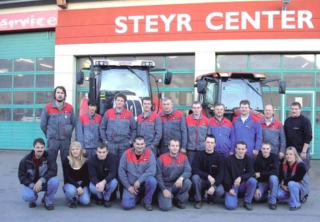 Steyr Center Team Purgstall © Steyr Center