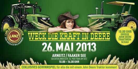 John Deere Fantreffen  Unser Lagerhaus WHG