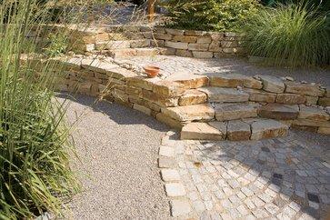 mit naturstein den garten gestalten | lagerhaus thermenland, Garten und Bauen