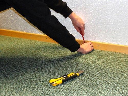 Teppichboden Einfach Entfernen Lagerhaus