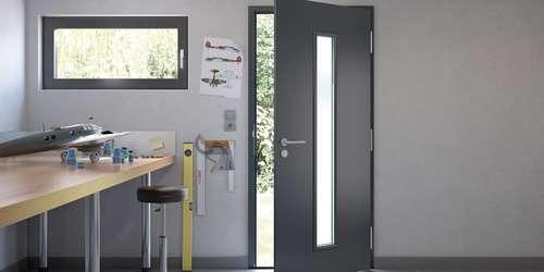 Kellertür außen  Alte Kellertüren tauschen | Lagerhaus