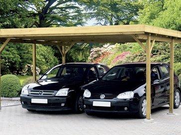 carport aus holz oder aluminium f r ihr auto lagerhaus rgo. Black Bedroom Furniture Sets. Home Design Ideas
