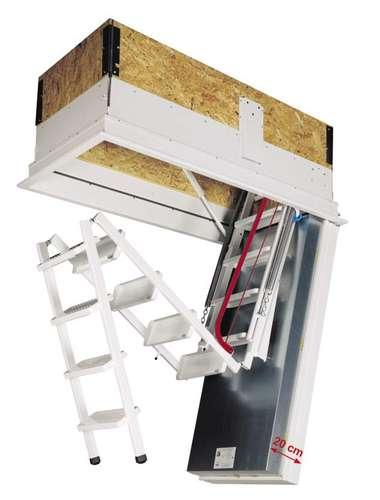 Dachbodentreppen Helfen Energie Sparen Lagerhaus