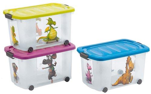 Jugendstil Gartenmobel Set : PlastikRollenbox mit Deckel, 45 l  Bau & Gartenmarkt  Lagerhaus