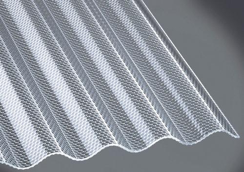 profilplatte guttagliss acryl sz wabe klar 1045x3500x3 mm bau gartenmarkt lagerhaus. Black Bedroom Furniture Sets. Home Design Ideas