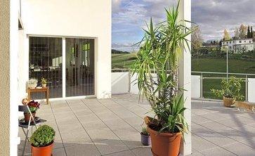 terrassenplatten von semmelrock lagerhaus. Black Bedroom Furniture Sets. Home Design Ideas