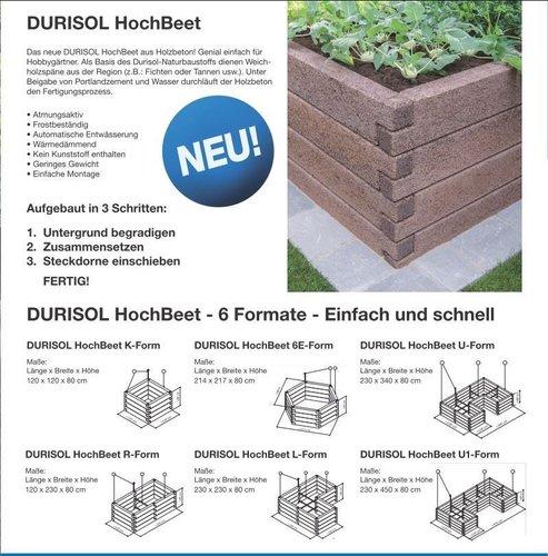 Das Durisol Hochbeet Ideal Fur Ihren Garten Lagerhaus Thermenland