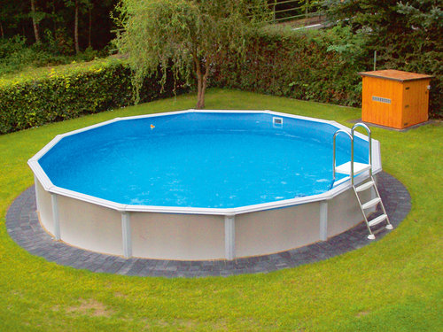 pool set xxl deluxe bau gartenmarkt lagerhaus. Black Bedroom Furniture Sets. Home Design Ideas