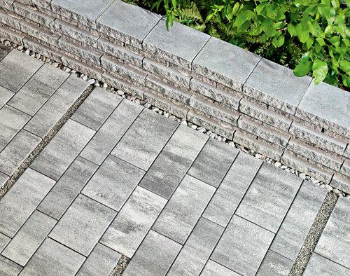 Friedl Steinwerke Kombipflaster Triad Vg4 8 Cm Bauen