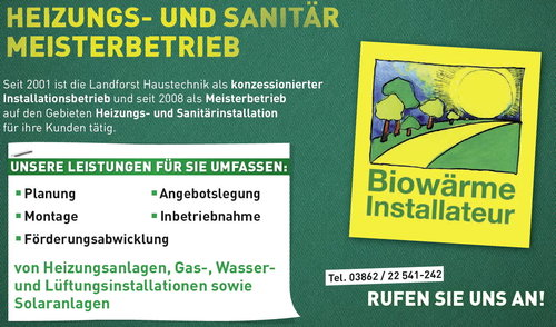 Landforst Haustechnik Heizung Sanitar Alternativenergie