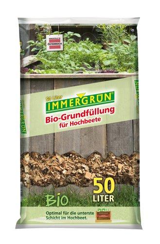 Immergrun Bio Grundfullung Fur Hochbeete 50 L Bau Gartenmarkt