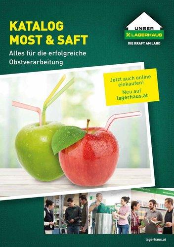 Katalog Most Saft Lagerhaus Wiener Becken
