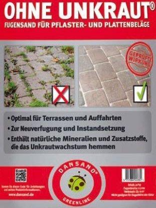 Unkrauthemmender Fugensand Von Dansand Lagerhaus Wiener Becken