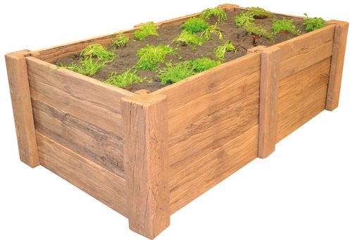 casafino hochbeet wood eiche hell gro bau gartenmarkt lagerhaus sortiment. Black Bedroom Furniture Sets. Home Design Ideas